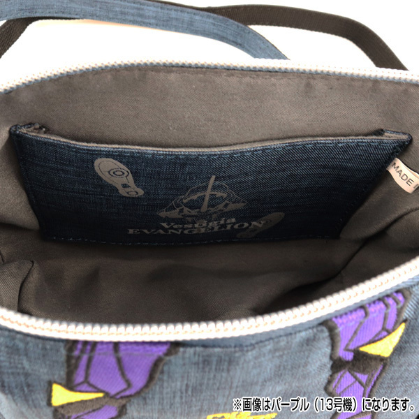 RADIO EVA 699 EVANGELION Pouch Shoulder Bag by mis zapatos/レッド(2号機)/ EVANGELION エヴァンゲリオン
