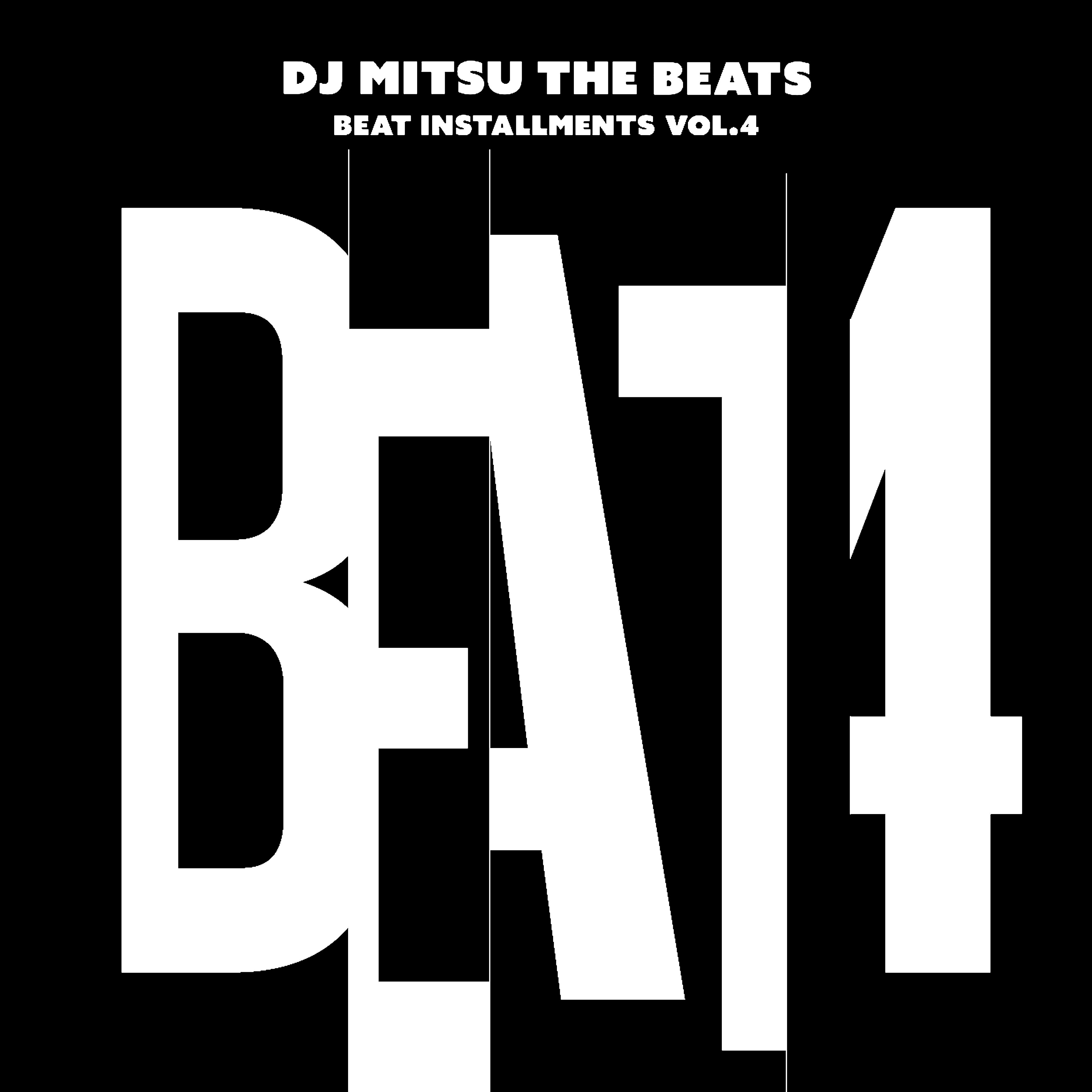 【LP】DJ Mitsu the Beats - Beat Installments Vol.4