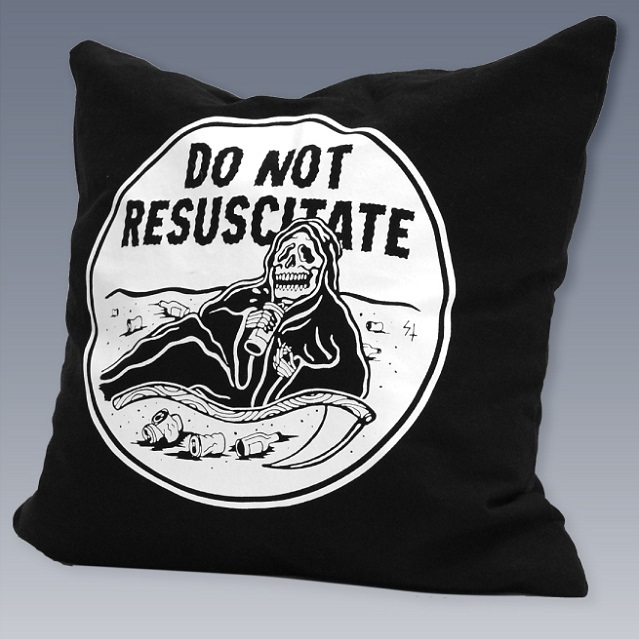 LURKING CLASS by SKETCHY TANK #DNR Pillow