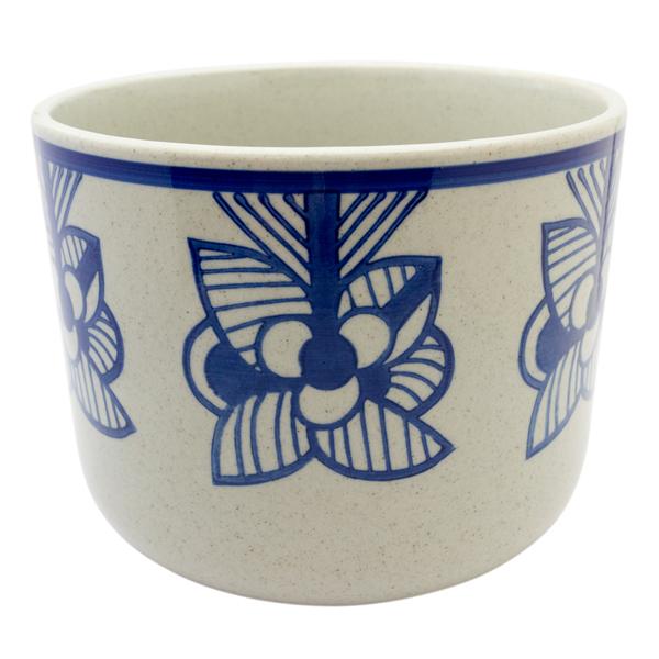 Lisa Larson Flora Stripe Flower 鉢カバー(ブルー)