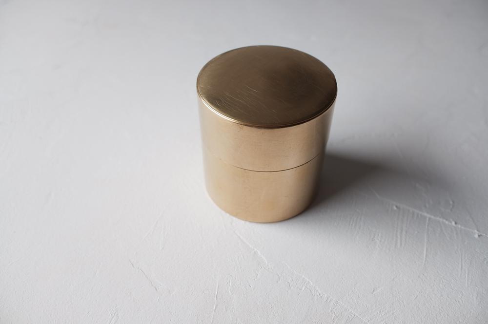 SyuRo 丸缶 (小) 真鍮