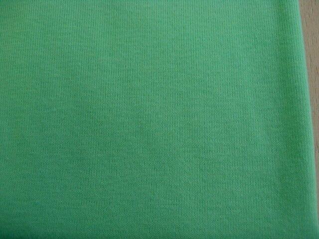 J&B定番 綿コーマ糸フライスニット グリーン NTM-2627