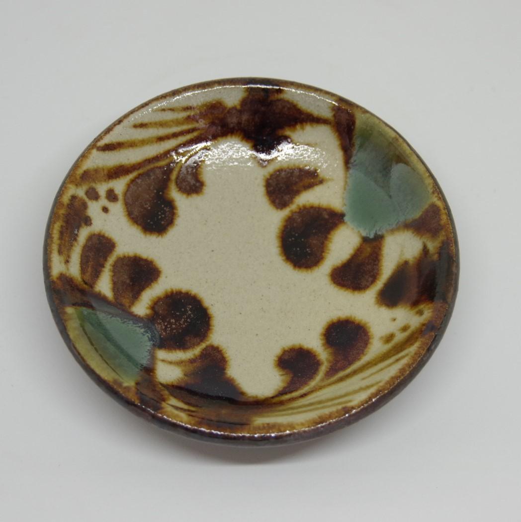 やちむん【工房マチヒコ】3.5寸皿