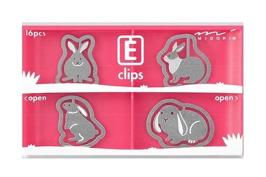 ウサギ エッチングクリップス