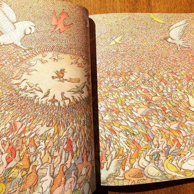 絵本「The Conference of the Birds/Peter Sis」 - 画像2