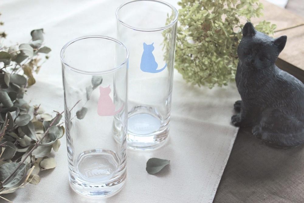 猫柴*ロンググラスタンブラー<猫ver>