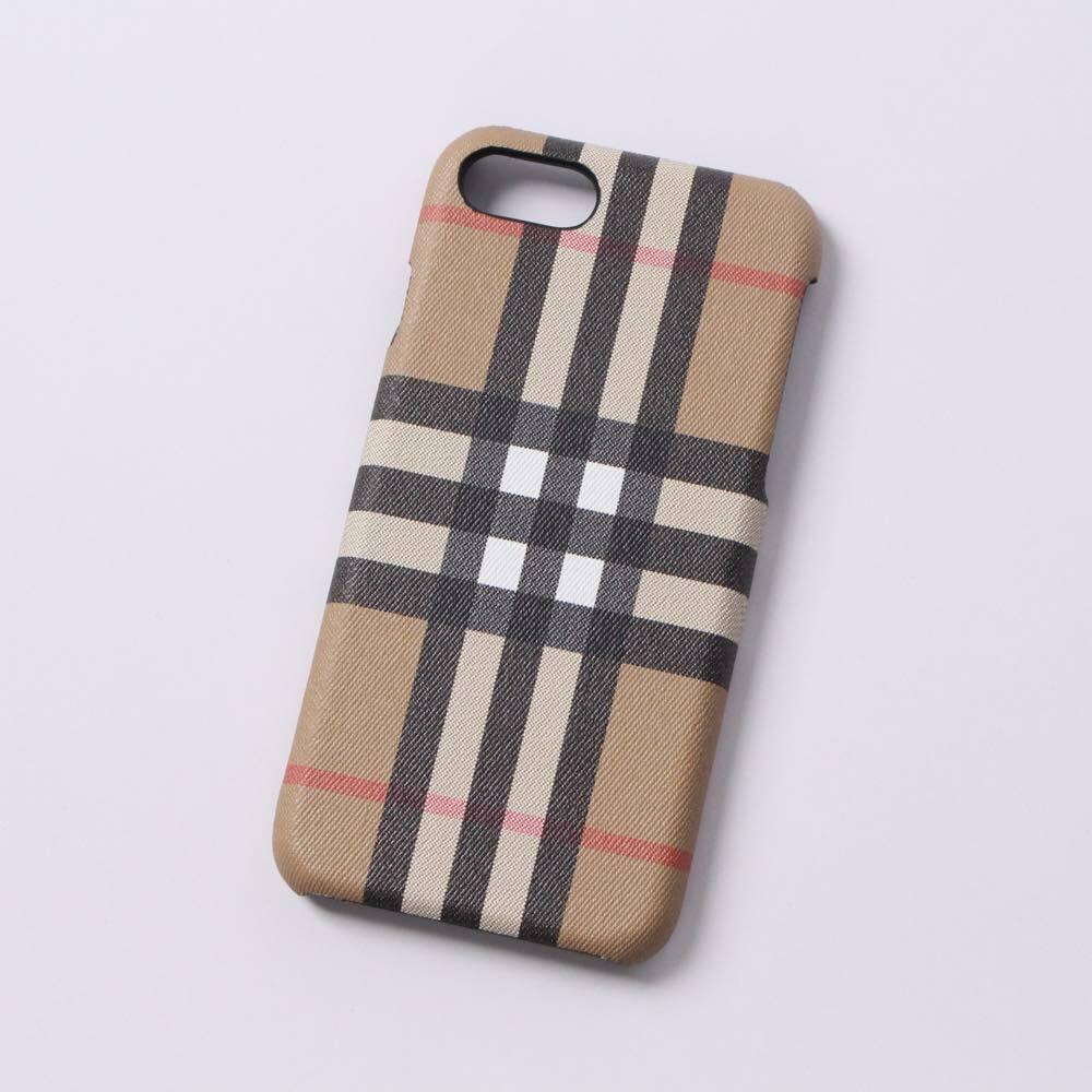3878514d78 BURBERRY(バーバリー) iPhone8 iPhone7 アイフォンケース スマホケース iPhoneケース ベージュ チェック 4077919  [全国送料無料] r014181 | KASHI KARI LABO ストア