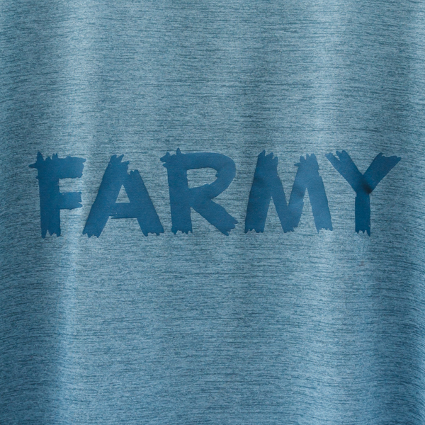 FOXFIRE×HARVESTA! 防虫素材スコーロンL/S T-SHIRTS ナイトブルー