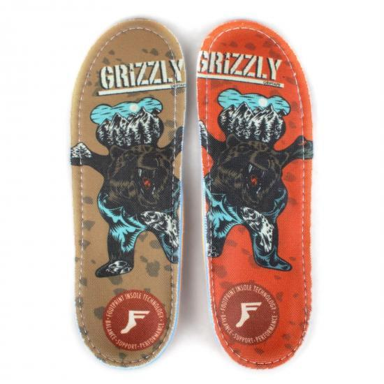 FOOTPRINT フットプリントインソールKINGFOAM ORTHOTIC GRIZZLY