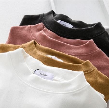 30%OFFc[A31]ラウンドネック Tシャツ