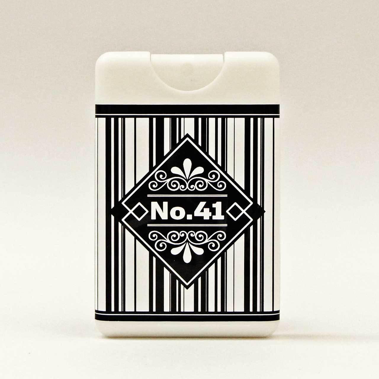 [期間限定]「Air CARD No.41」<POPy ブラック>(アロマフレグランスミストカード型スプレー)