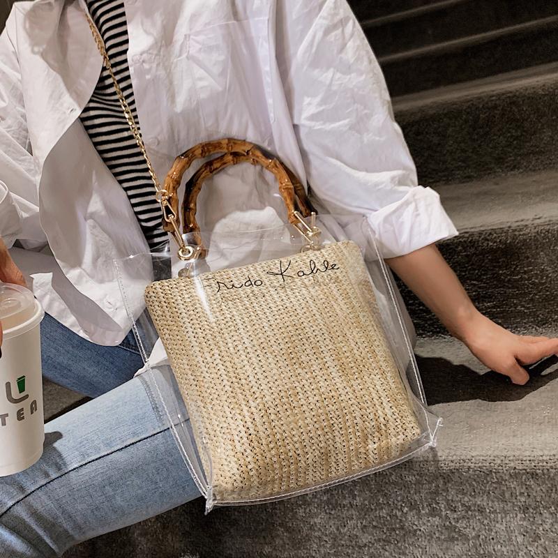 【goods】ファッション合わせやすいアルファベットバッグ20496157