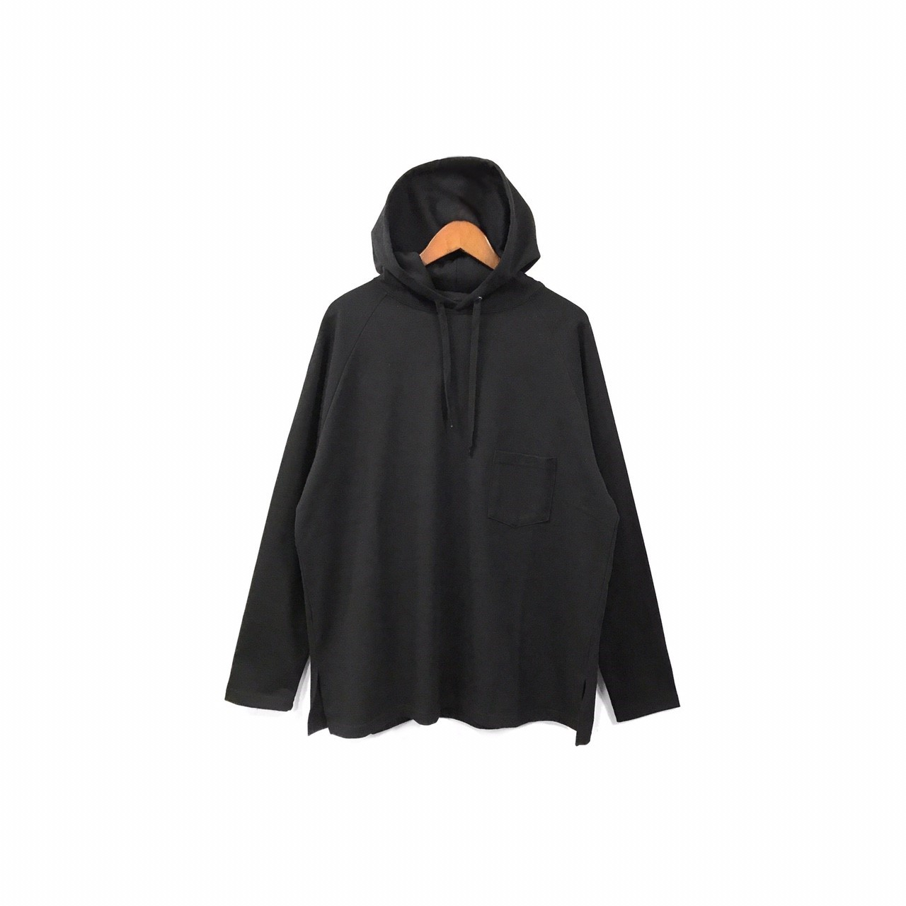 yotsuba - Hooded Cut&Sew / Black ¥12000+tax