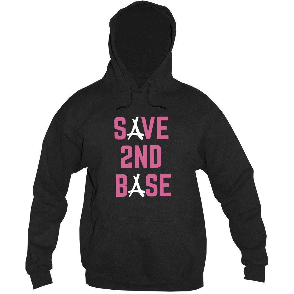 SAVE 2ND BASE HOODIE (BLACK)