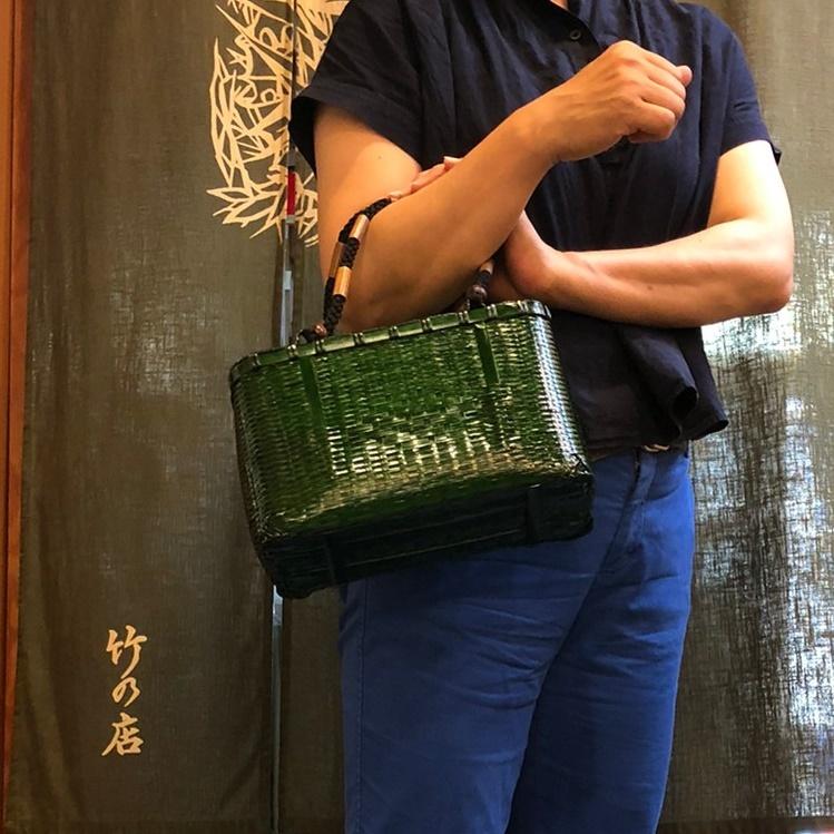 籠BAG  翡翠竹