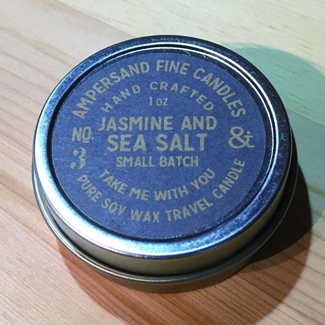 1oz Travel Can -JASMINE AND SEA SALT- キャンドル Candles - 画像1