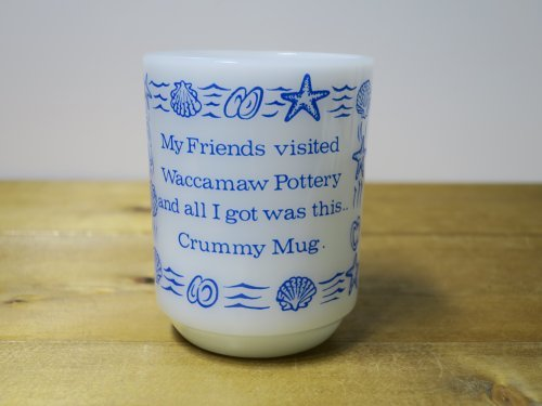 Fire King 9オンスマグ Crummy Mug