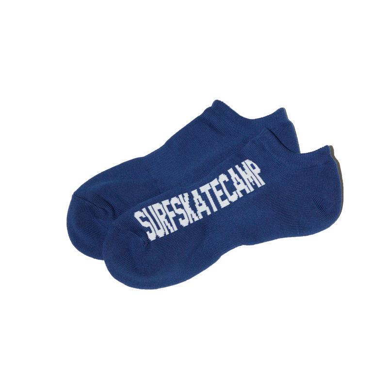 SURFSKATECAMP #Ankle Socks Navy