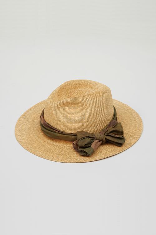 チンストローハット / THIN STRAW HAT