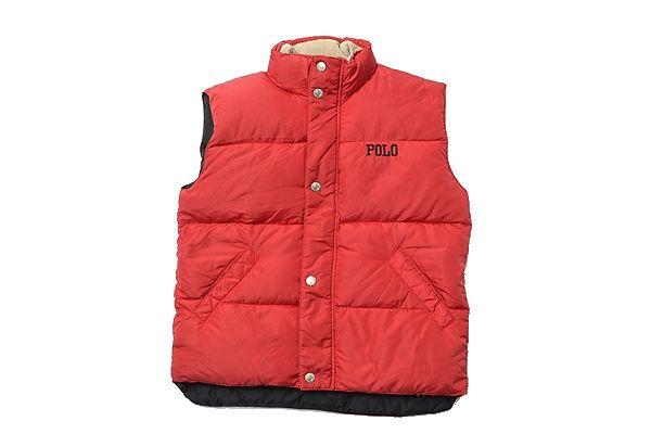 Ralph Lauren size130 down vest 90s polo