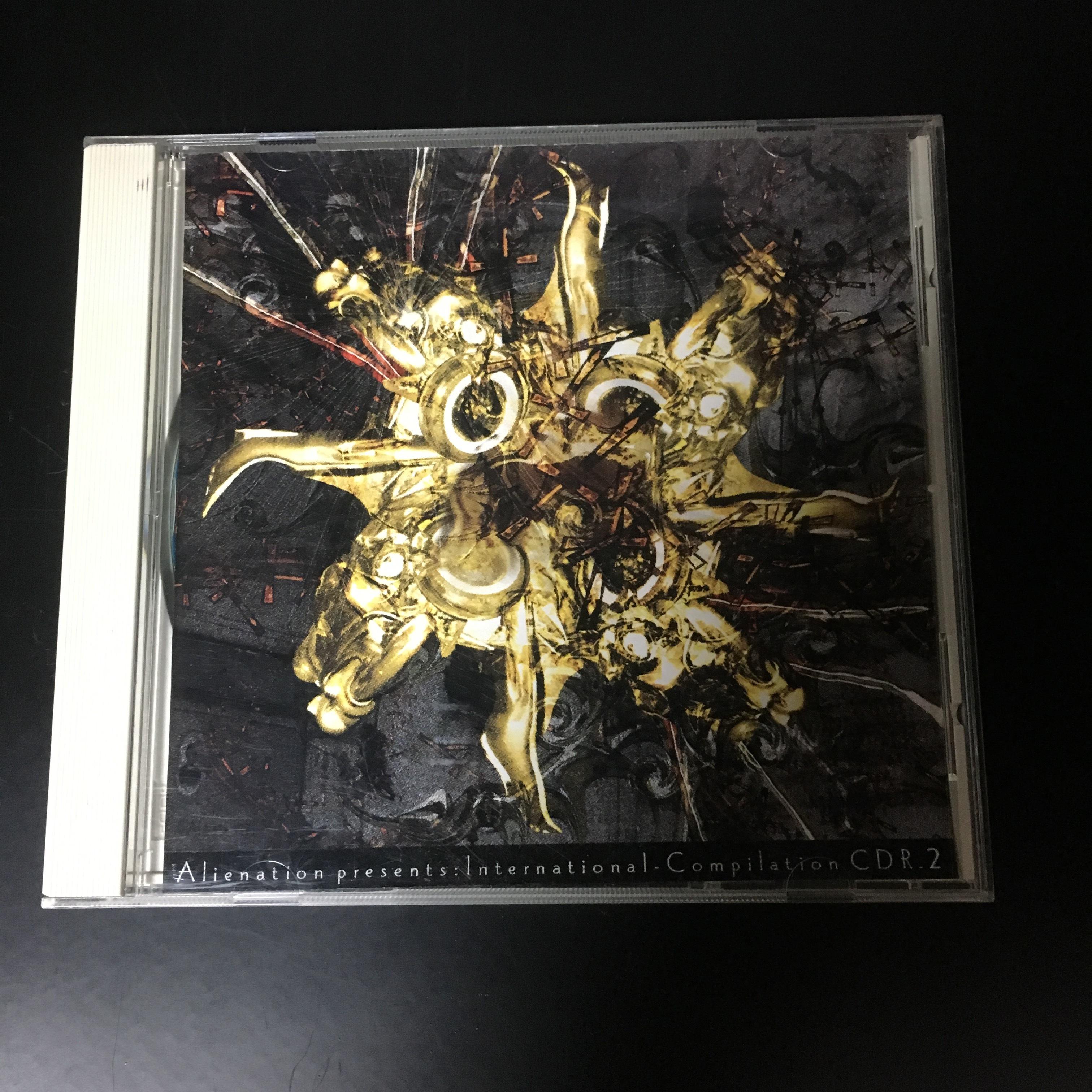 V.A. – Alienation Presents: International Compilation CDr_2(CDR)USED