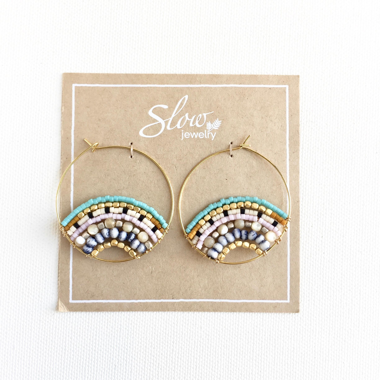 【Slow jewelry】ピアス P-1-3