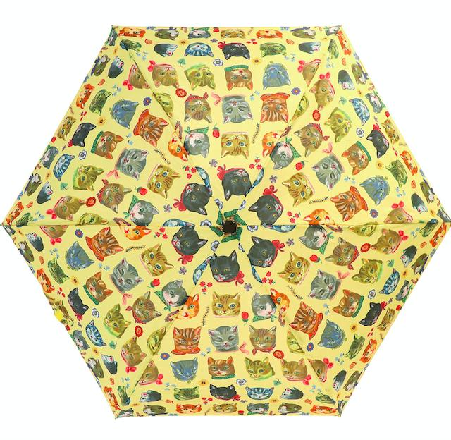 Nathalie Lete Folding umbrella cat / ナタリーレテ 折り畳み傘