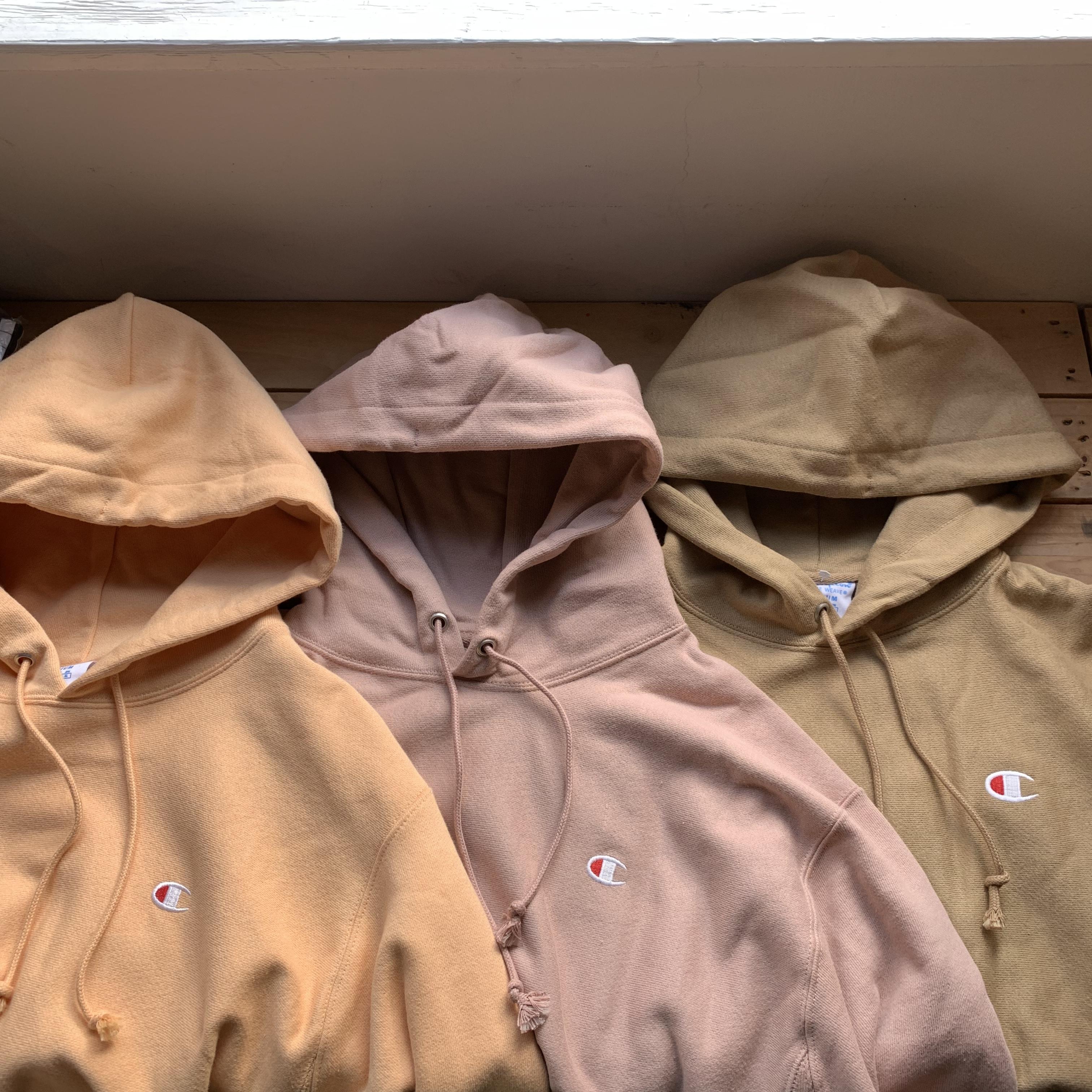 日本未発売カラー★Champion Reverse Weave Hoodie Sweatshirt