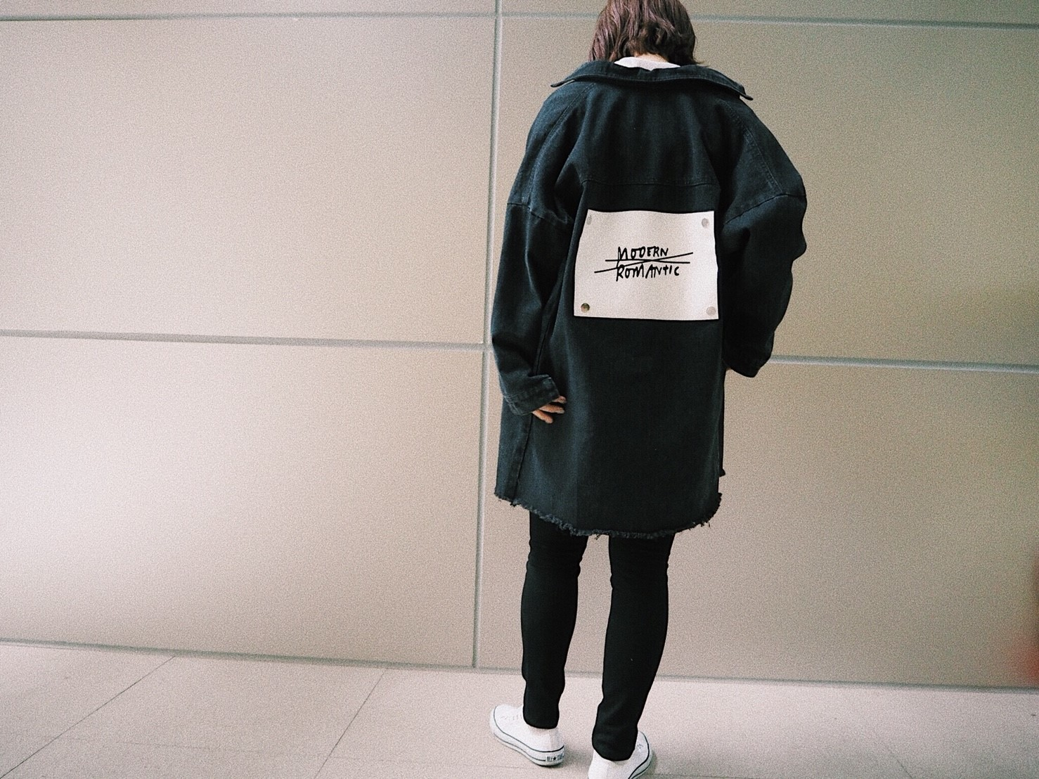 Back Logo Denim JK