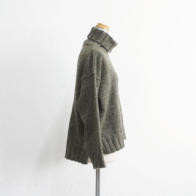 CUORESTORE クオーレストア オフタートルニット レディース タートル ニット 無地 長袖 ゆったり 秋 冬 通販 (品番9111202)