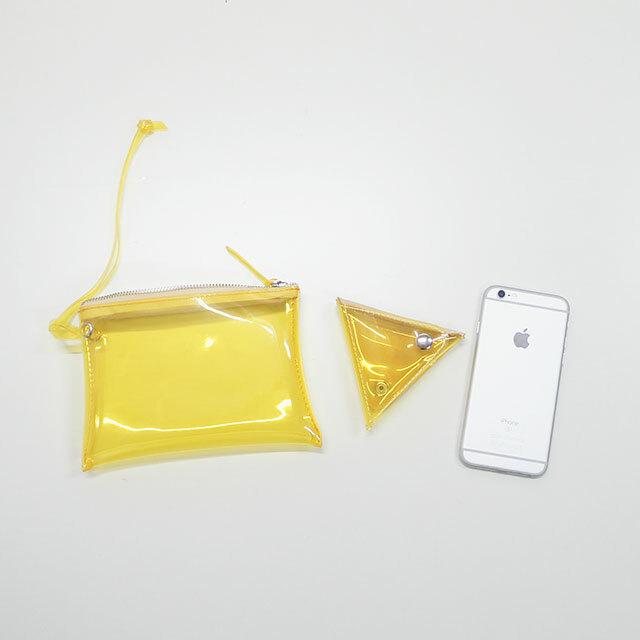 MASTER&Co. マスターアンドコー PVC MINI POUCH 【返品交換不可】 (品番mc1088)