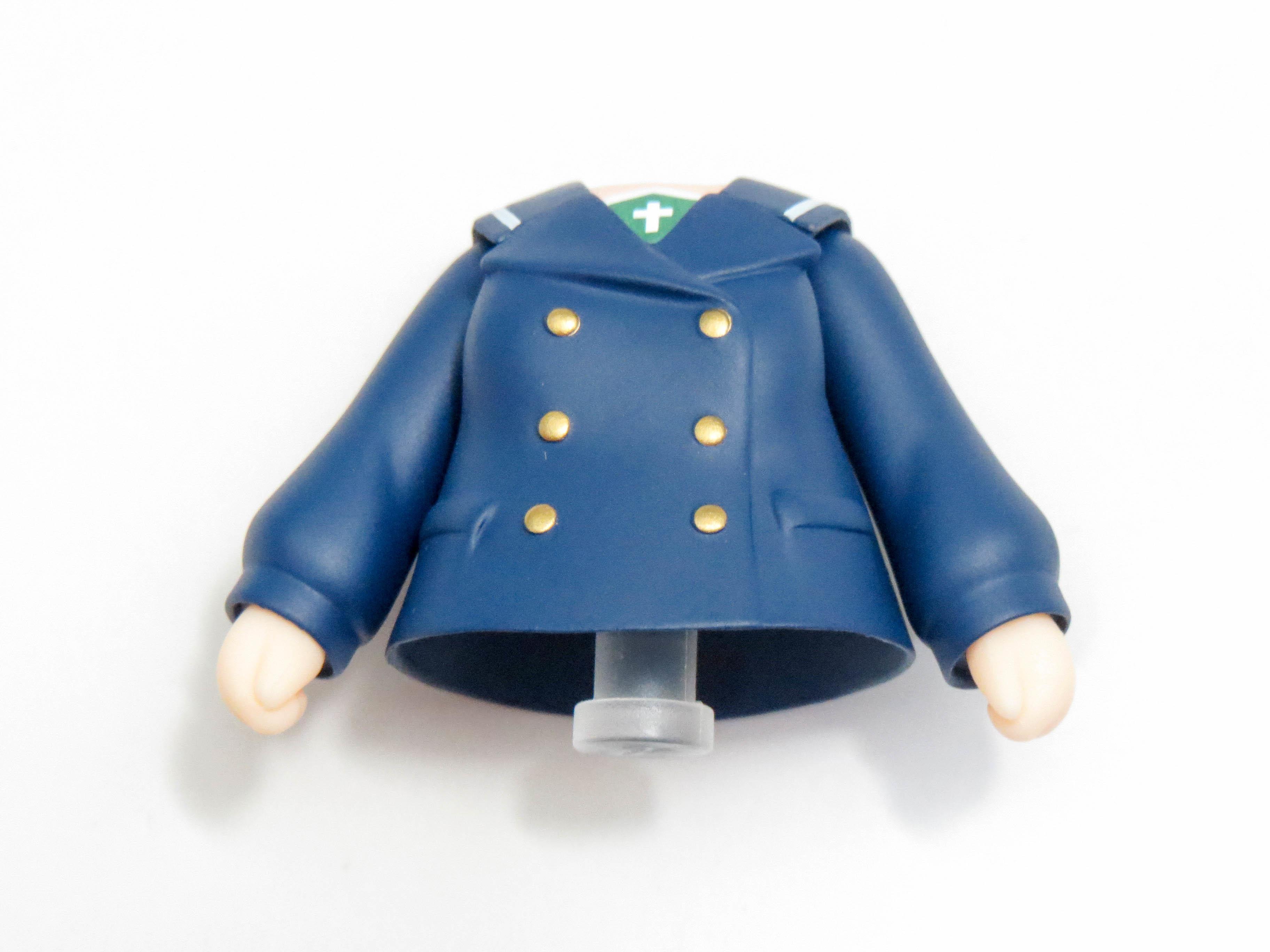 再入荷【825】 西住みほ パンツァージャケット&Pコート Ver.  体パーツ Pコート上半身 ねんどろいど