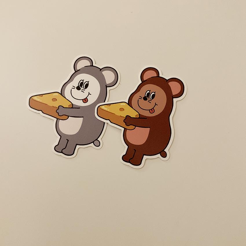 [OS-23] ゴンチル マウス ステッカーパック