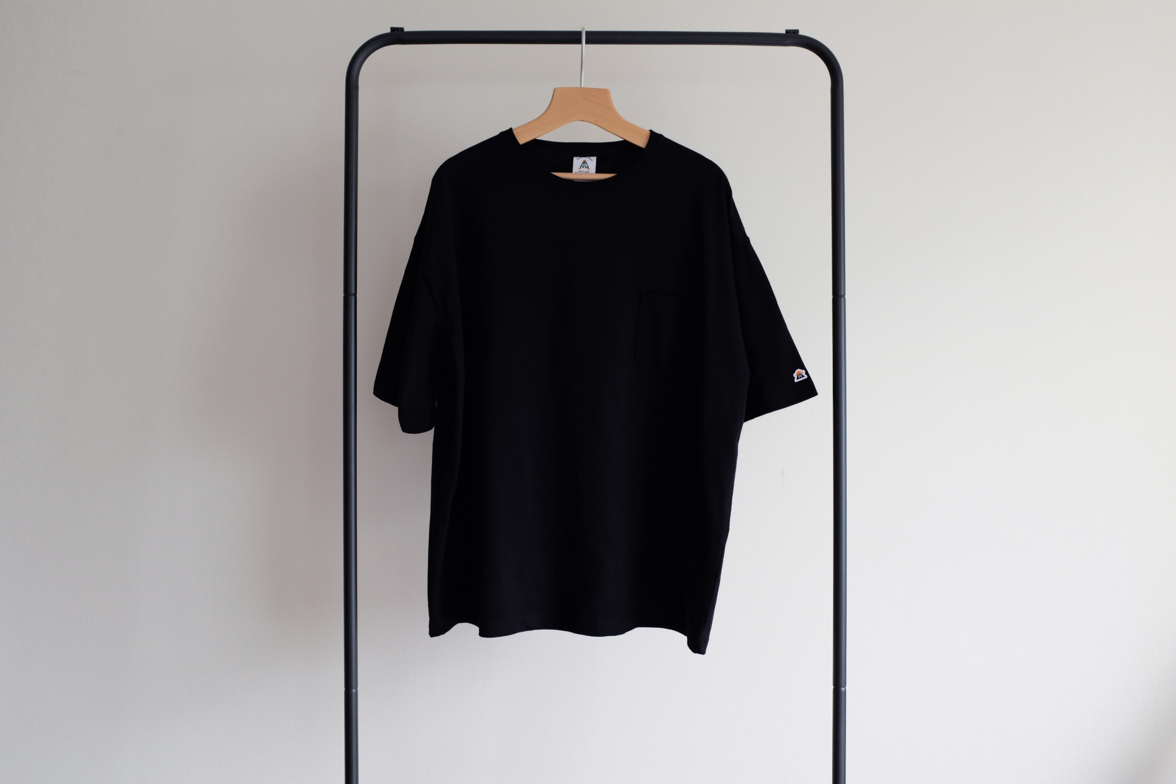 Oversize pocket tee[Black]