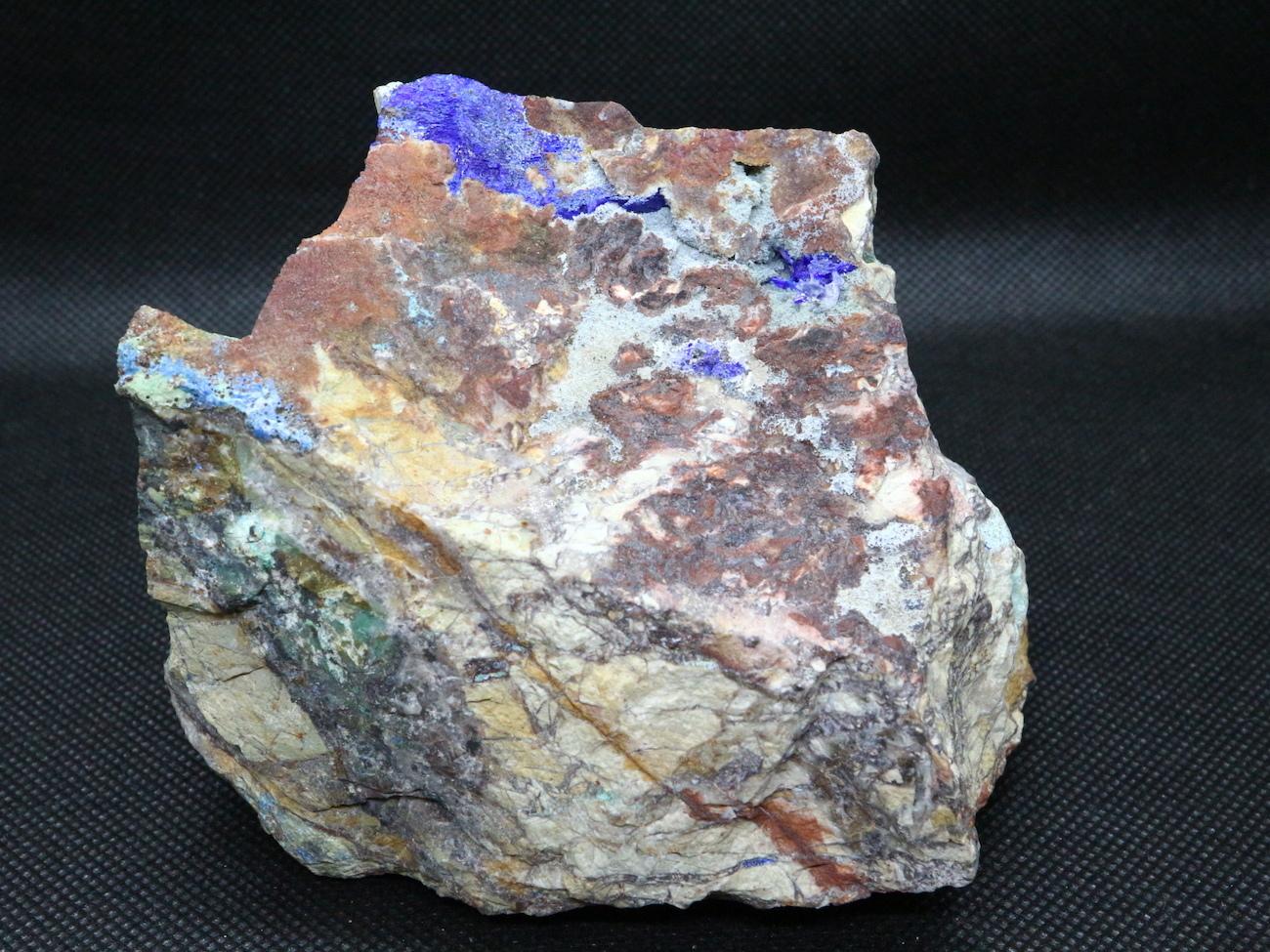 アリゾナ産 リナライト Linarite (青鉛鉱) 776,9g LN004 鉱物 原石 天然石 パワーストーン