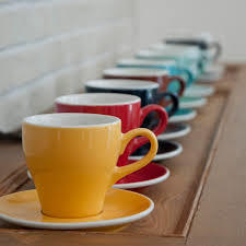 【業務用・6客セット】Loveramics(ラブラミックス) 180ml cappuccino cup tulip カップ&ソーサ―付き