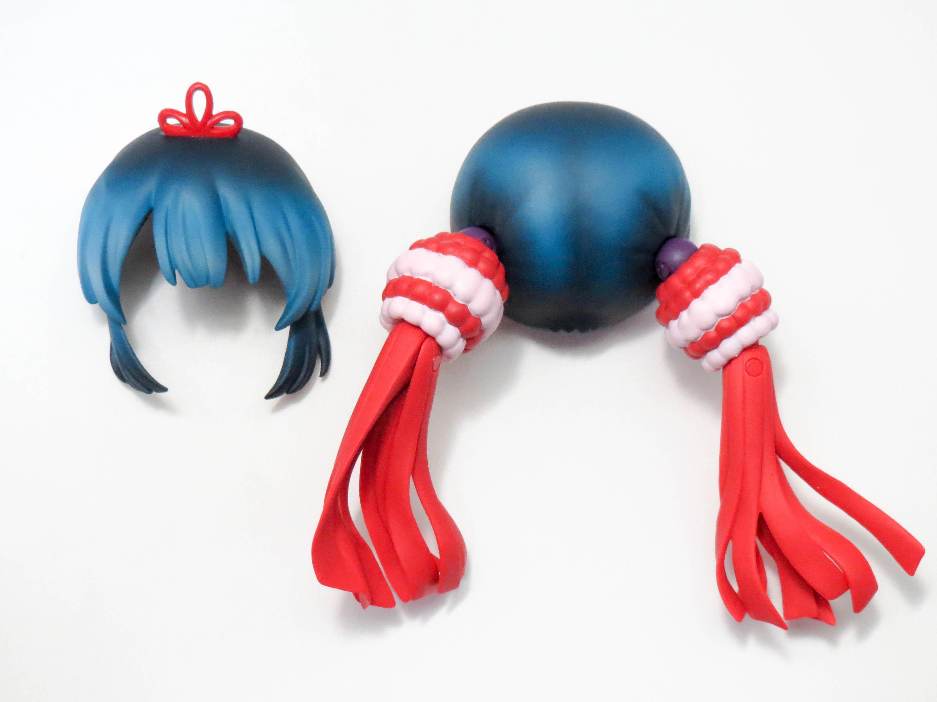 再入荷【460】 青葉鳴子 髪パーツ ツインテール ねんどろいど