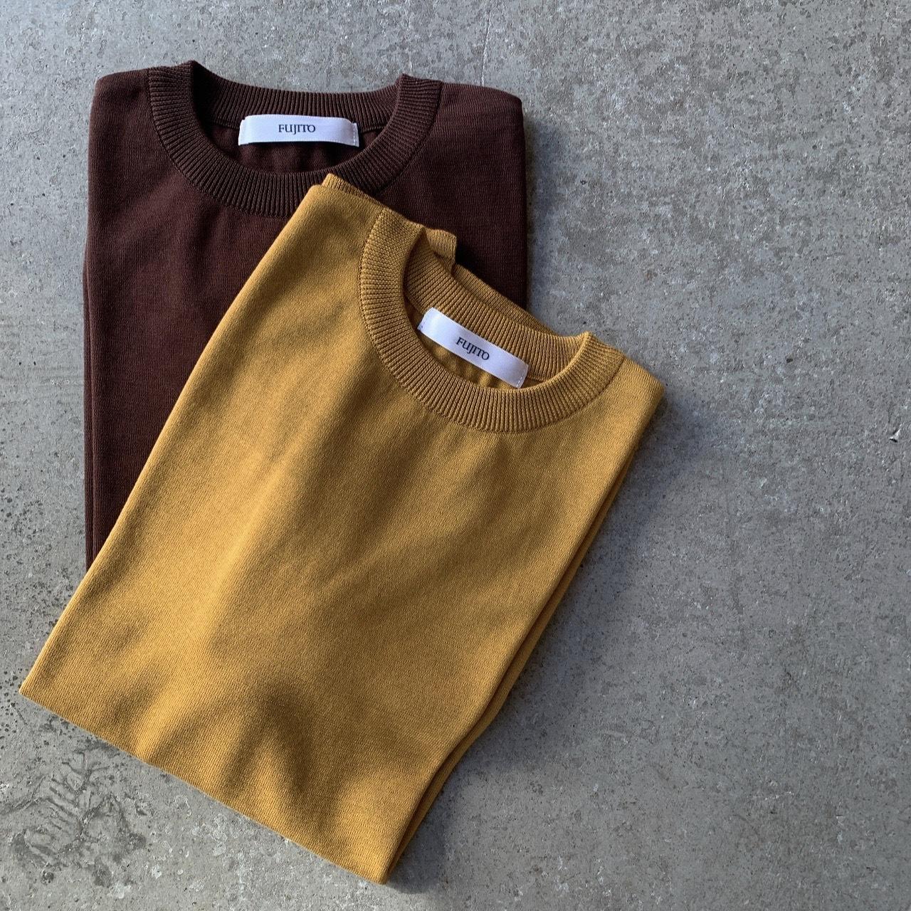 FUJITO - Knit T-Shirt
