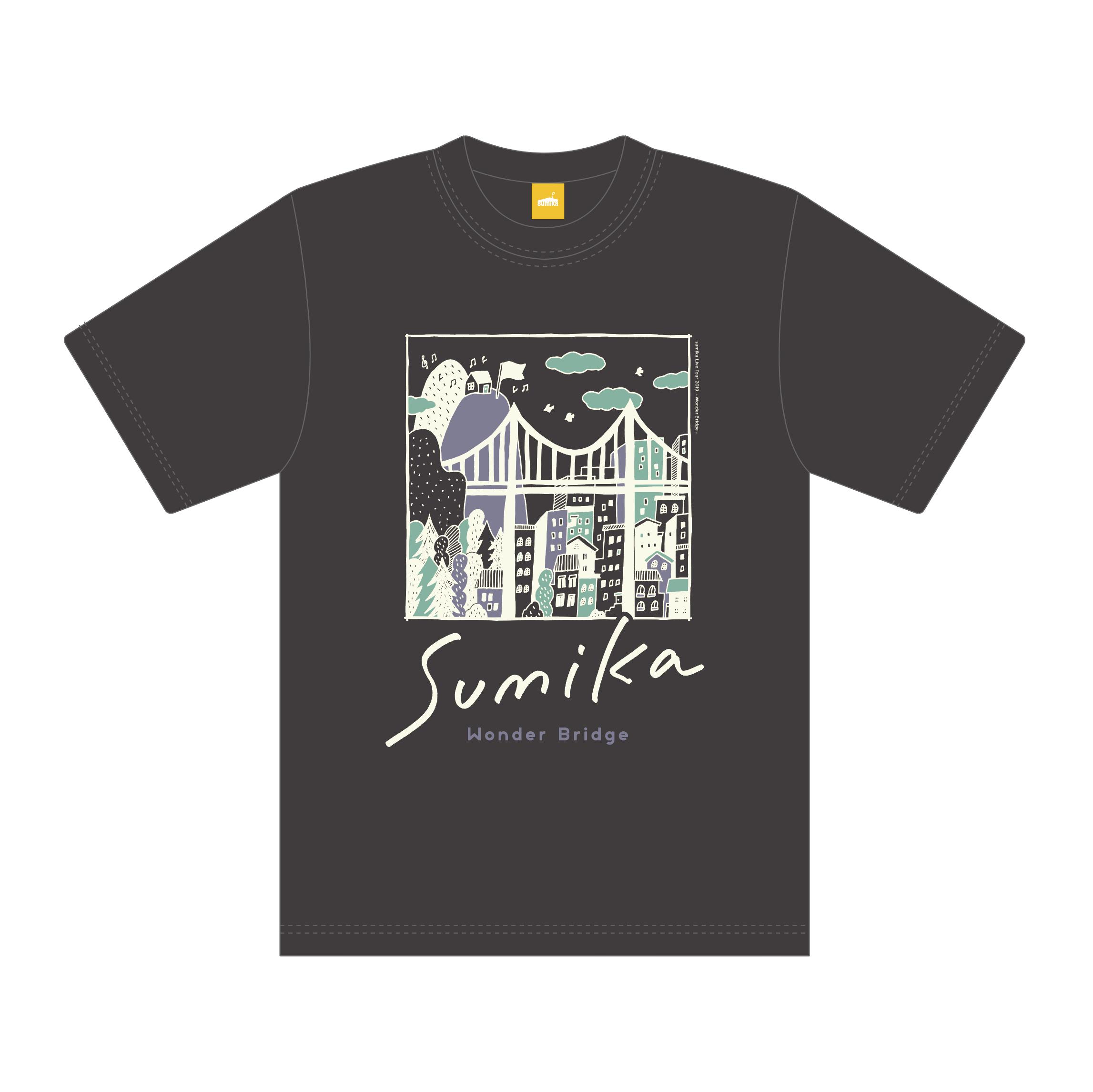 sumika / Wonder Bridge Tシャツ(スミ)