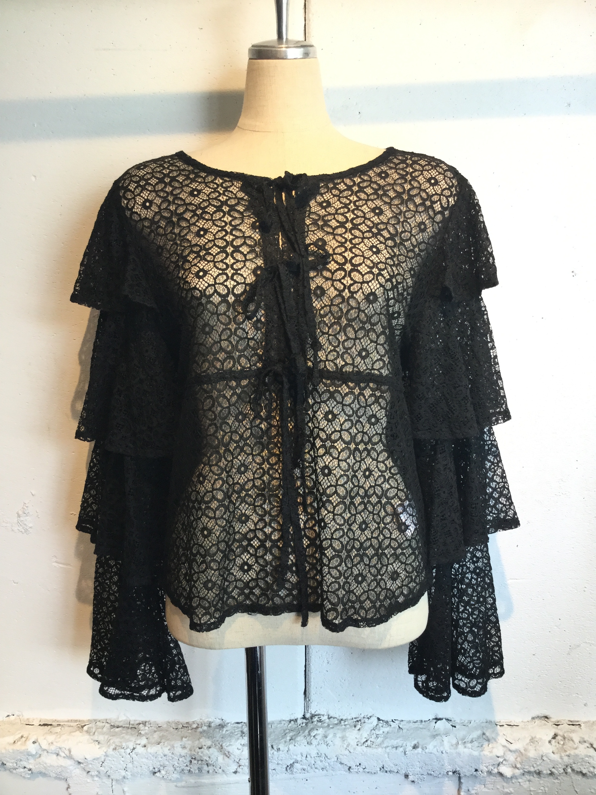 Sister Jane Edge of Lace Top