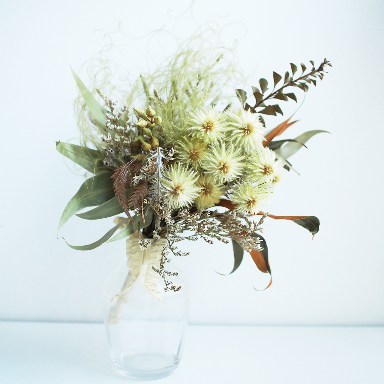 mayu32fd 高橋 繭「飾る dried flower bouquet  」