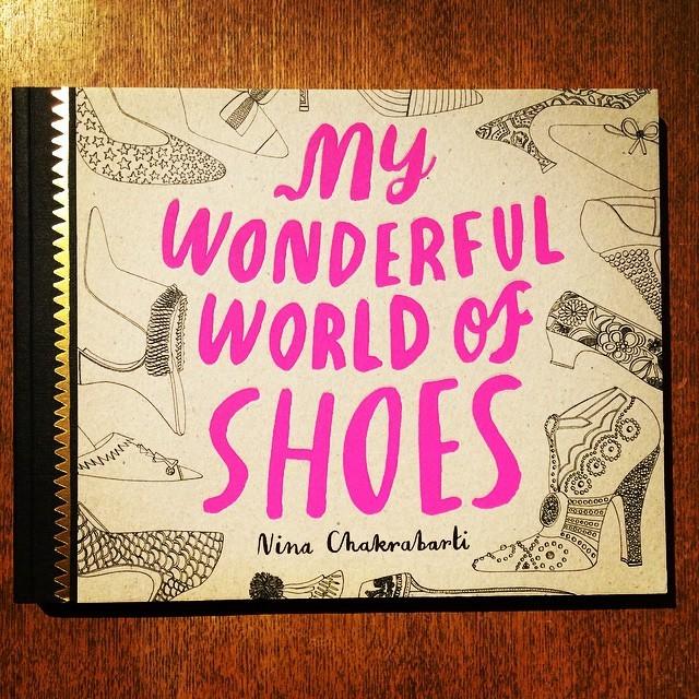 イラスト集「My Wonderful World of Shoes/Nina Chakrabarti」 - 画像1