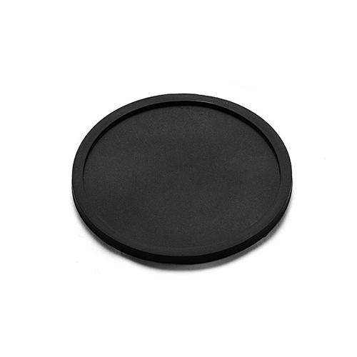 シリコン・ブラック・コースター 4枚セット(送料込み) - 画像2