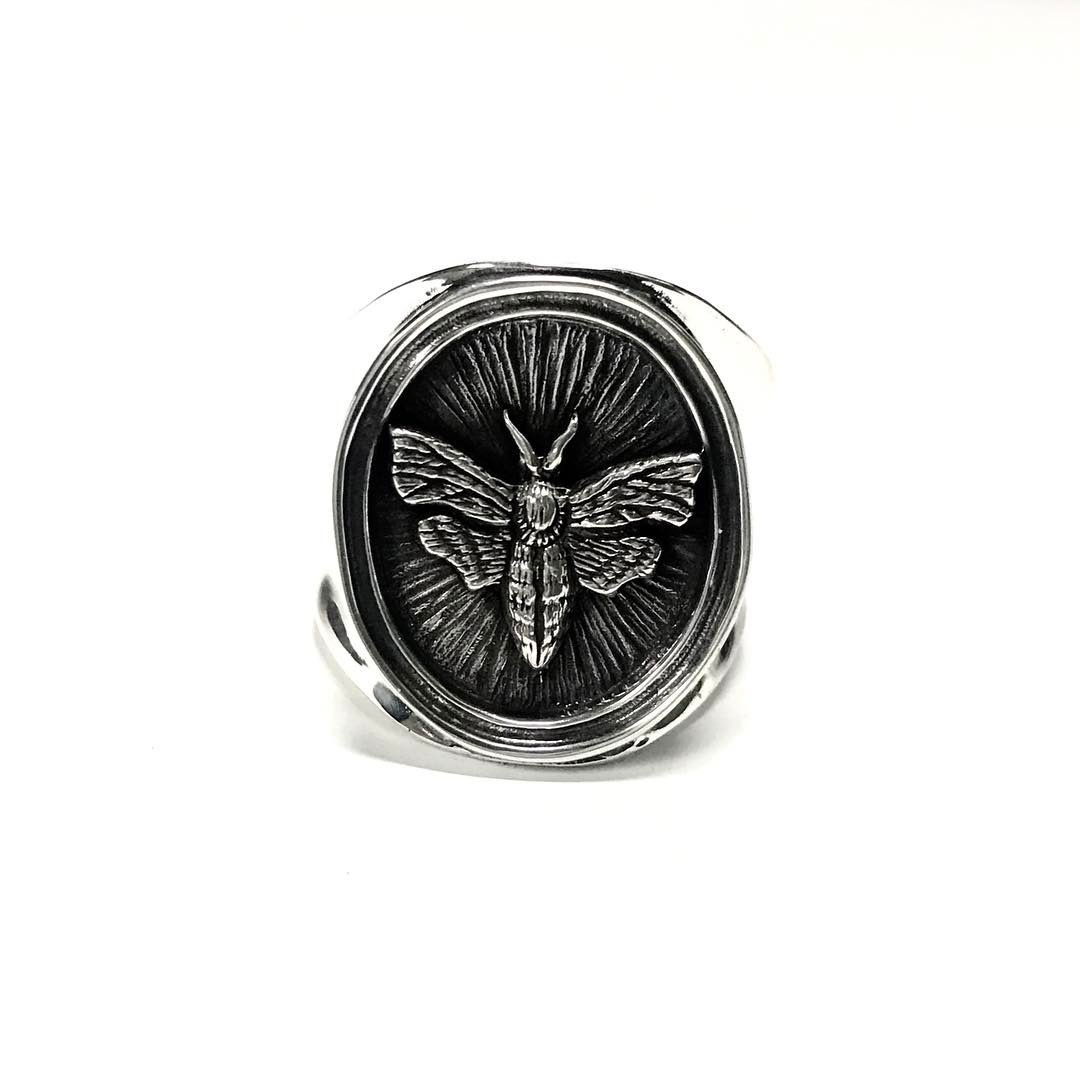 inoutdesign/Moth Ring - 画像1