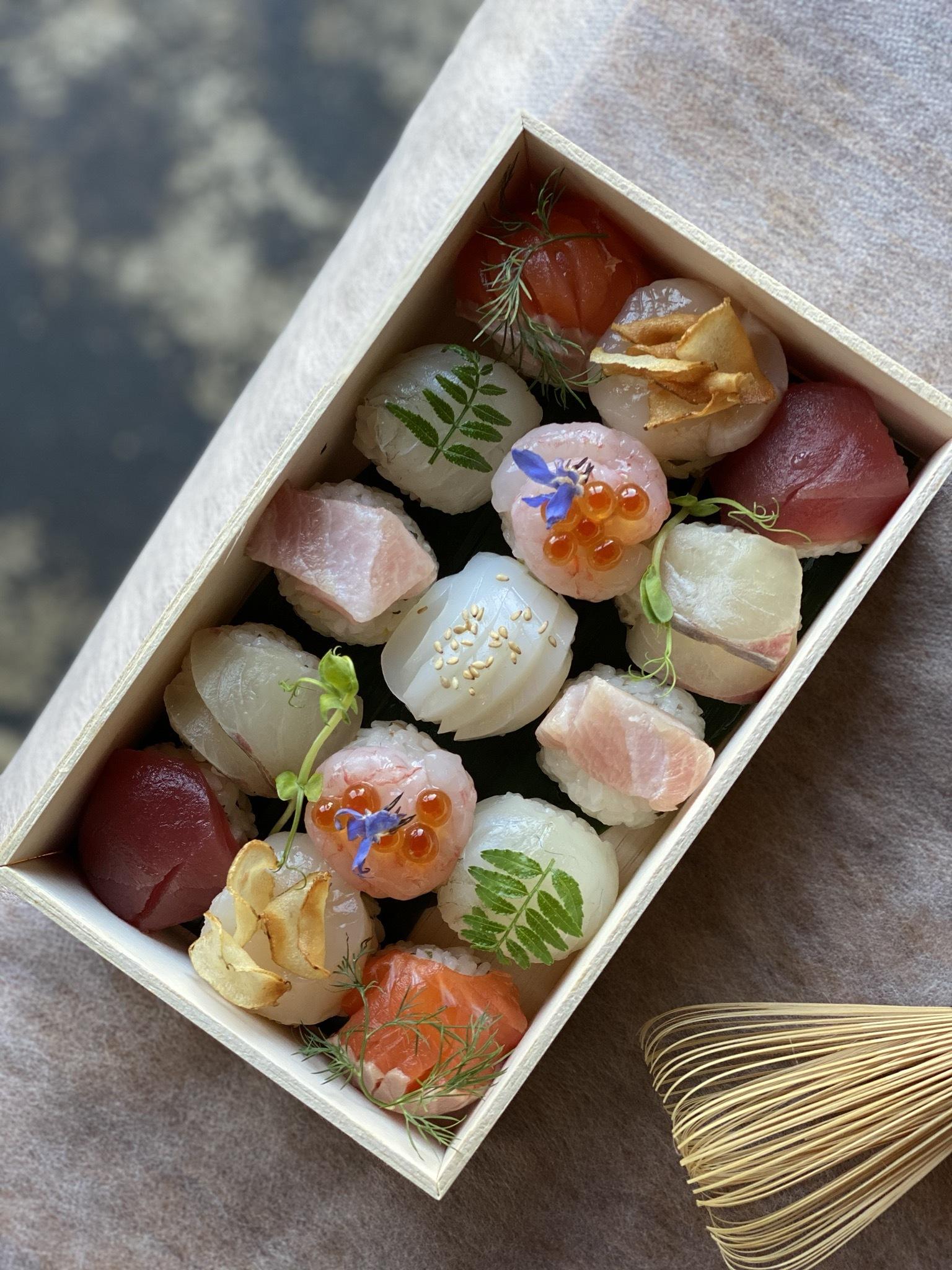 手毬寿司15個入 発送×