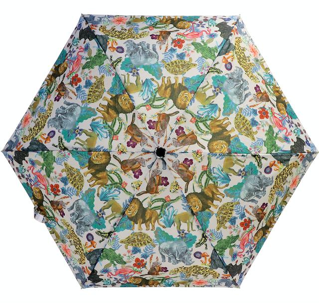 Nathalie Lete Folding umbrella Jungle / ナタリーレテ 折り畳み傘