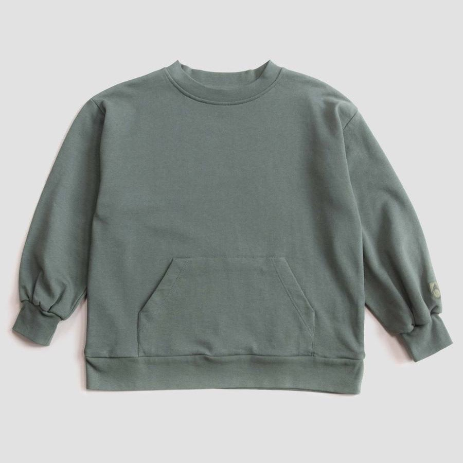 《main story 2019AW》WIDE SWEATSHIRT / forest