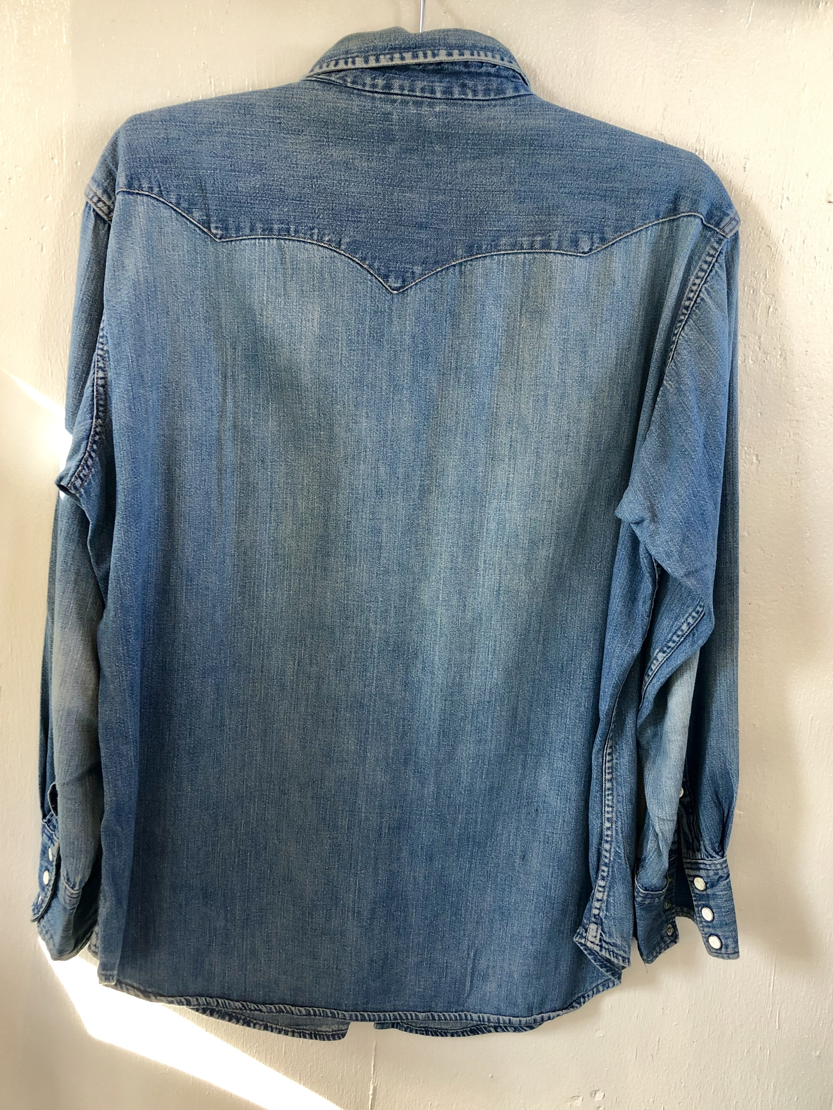 wrangler Blue Bell ウエスタンデニムシャツ