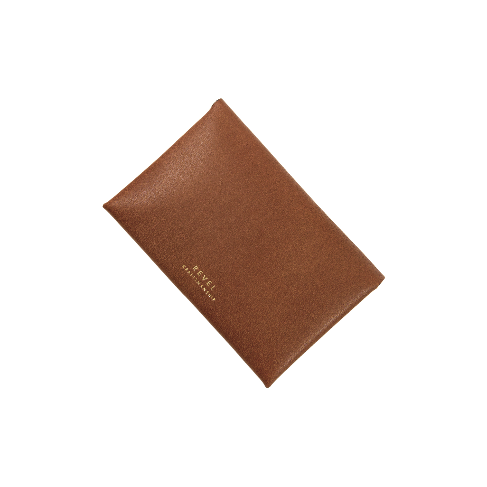 SLIM CARD CASE CAMEL