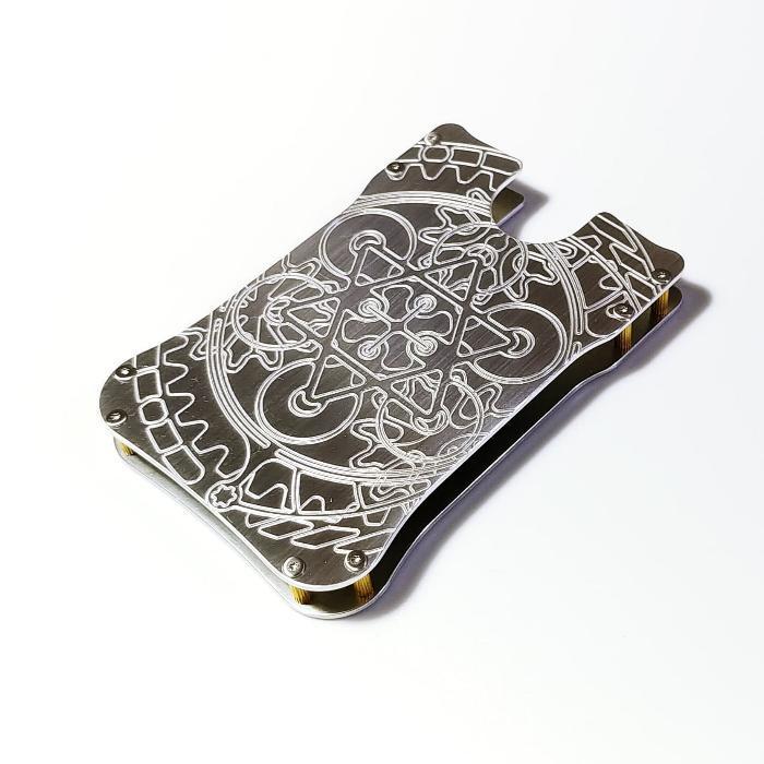 【遊星名刺入れ・カードケース】 ジュラルミン製 / プレゼントにもおしゃれ